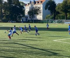 Spielbericht F-Jugend gegen Lindenau / Erklärung Mädchen im Jugendfußball